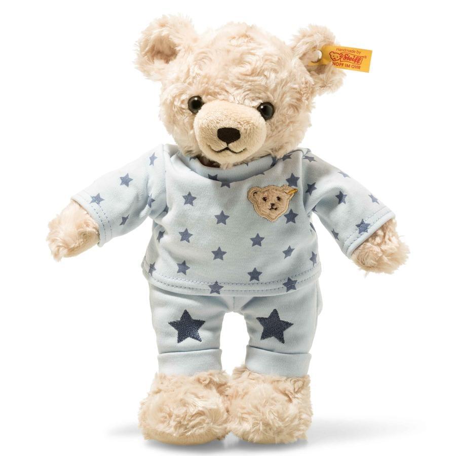 Steiff Teddy and Me Teddybjörn med pyjamas, 27 cm