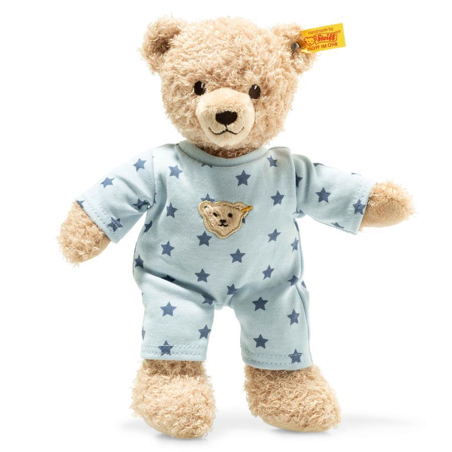 Steiff Teddy and Me Orsetto con pigiama azzurro, 25cm