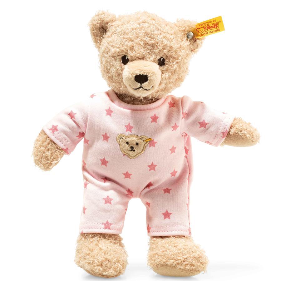 Steiff Teddy and Me Teddy Bear girl baby med pyjamas, 25cm