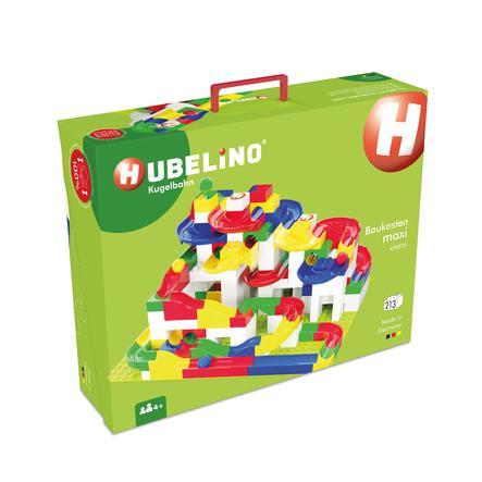 HUBELINO® Kugelbahn Baukasten maxi, 213-teilig