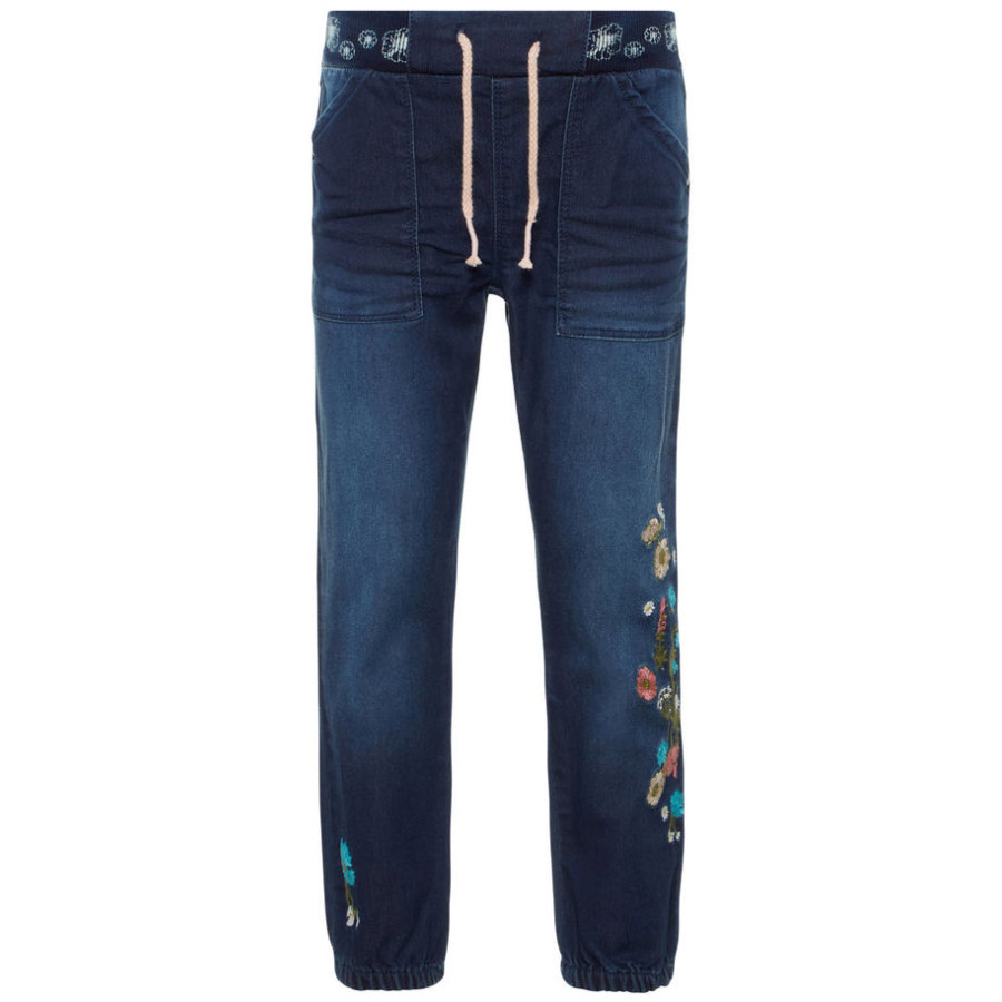 name it Girls Jeans Nmfbibi dark blue denim