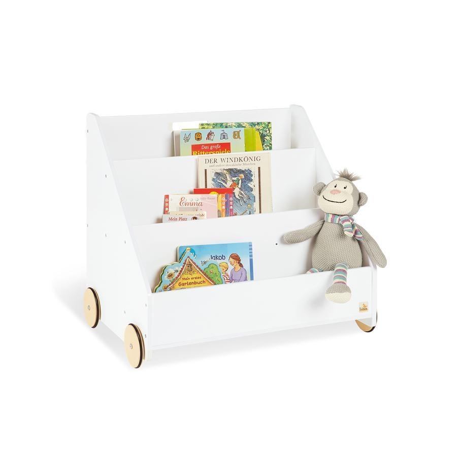 Pinolino Kinder-Bücherregal mit Rollen Lasse