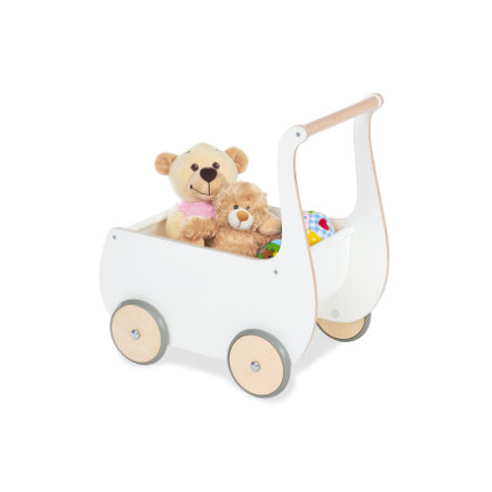 Pinolino Puppenwagen Mette, weiß