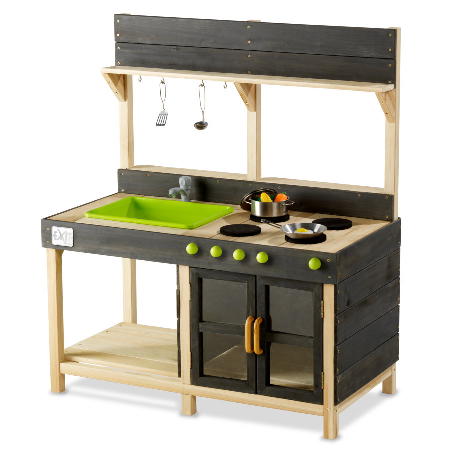 EXIT Cucina giocattolo Yummy 200 Outdoor, naturale