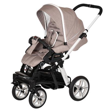 Hartan Kinderwagen Sky GTS Little Family (636) Gestellfarbe weiß