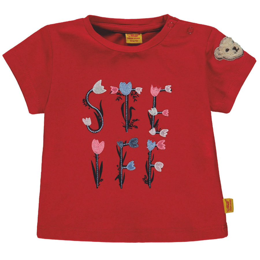 Steiff Girls T-Shirt, rot