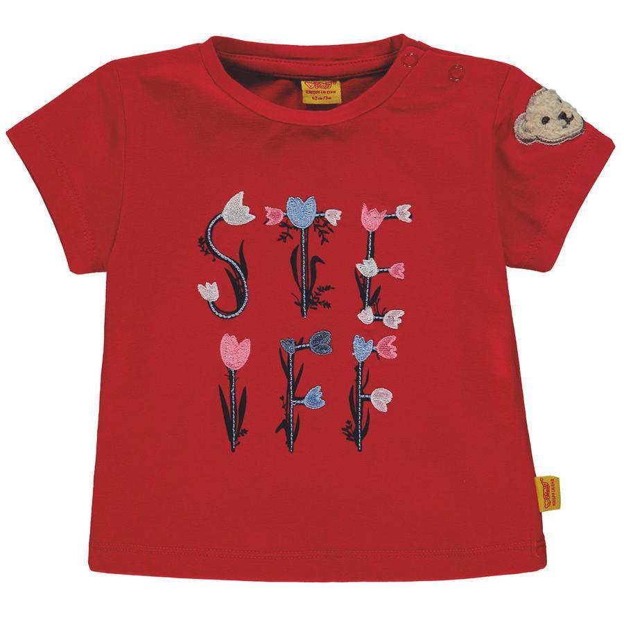Steiff Girls T-skjorte, rød