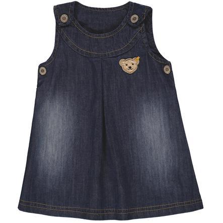 Steiff Girl s jurk jeans, blauw