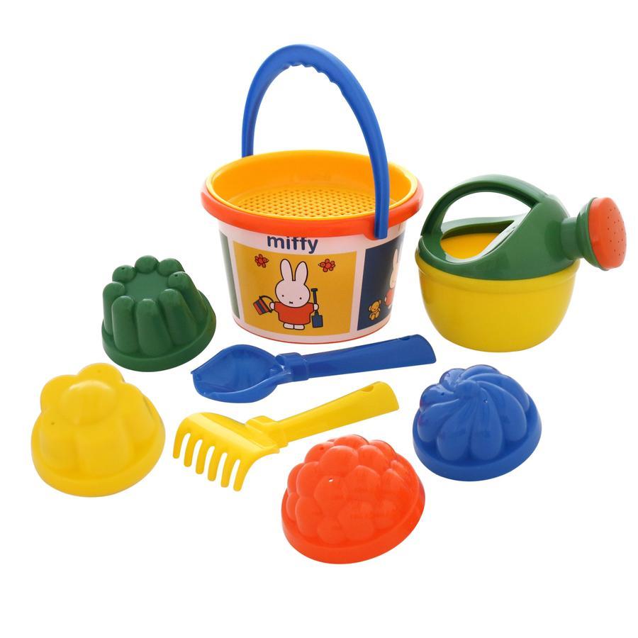 POLESIE Miffy sada kbelíku střední, 9 ks.