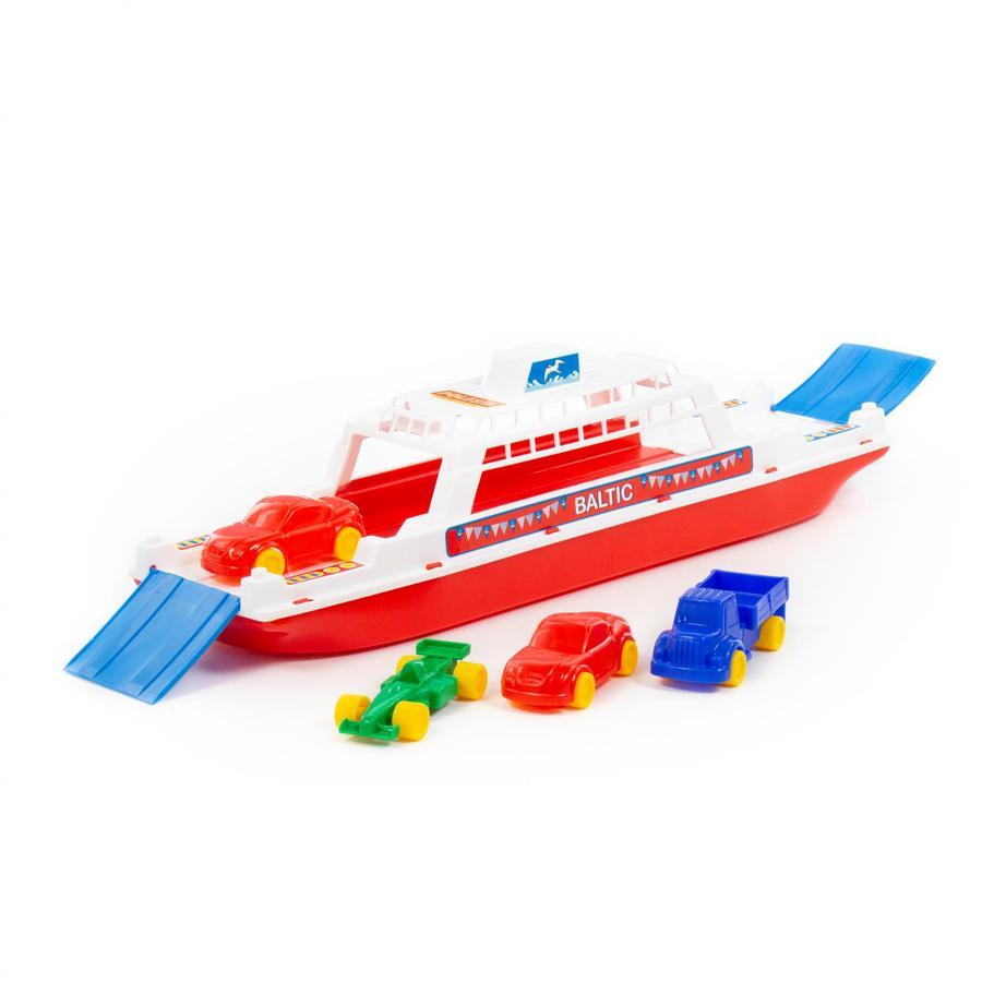 POLESIE Ferry con 4 Auto