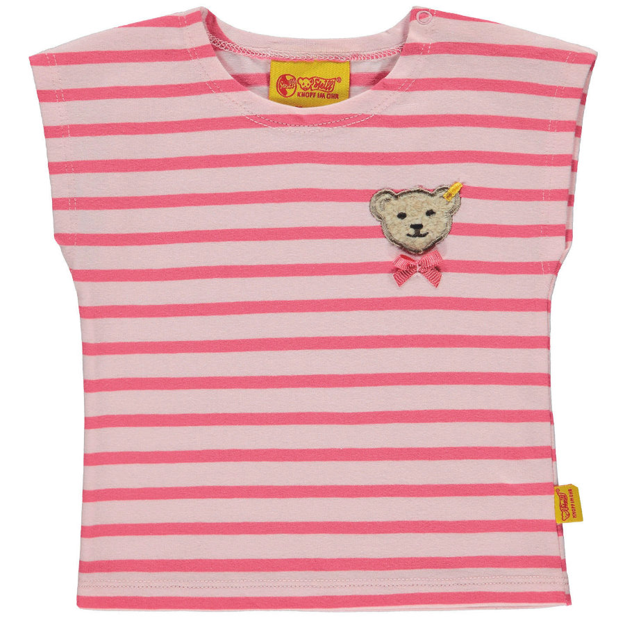 Steiff Girls T-Shirt, rosa