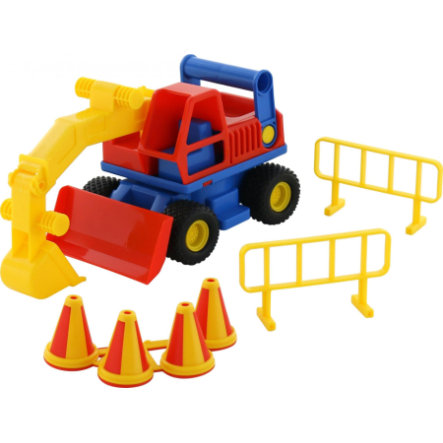 WADER QUALITY Truck Excavadora TOYS Cons