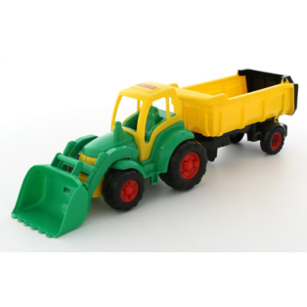 POLESIE Excavadora Champion con camión articulado