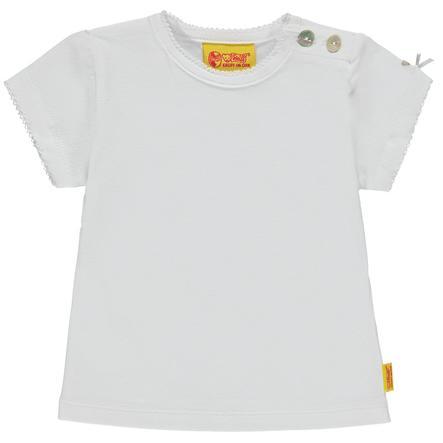 Steiff Girl s T-Shirt , blanco