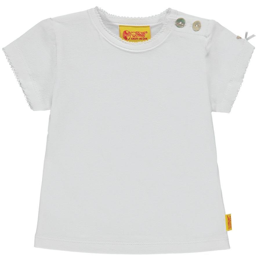 Steiff Girls T-Shirt, weiß