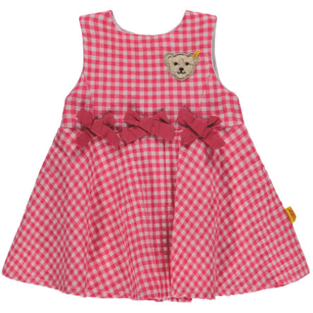 Steiff Girls Šaty bez rukávů, růžové