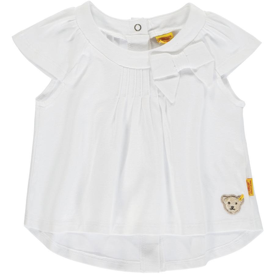 Steiff Girl s T-Shirt , biały