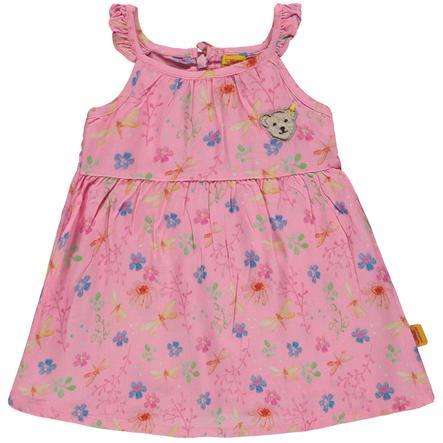 Steiff Girl s sukienka bez ramienia, różowa