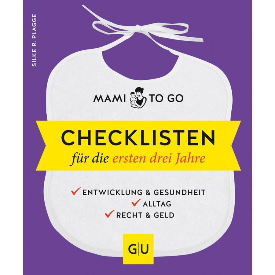 GU, Mami to go - Checklisten für die ersten drei Jahre