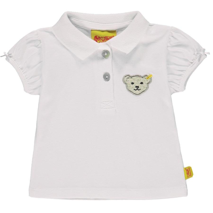Steiff Girl s PoloShirt, biały