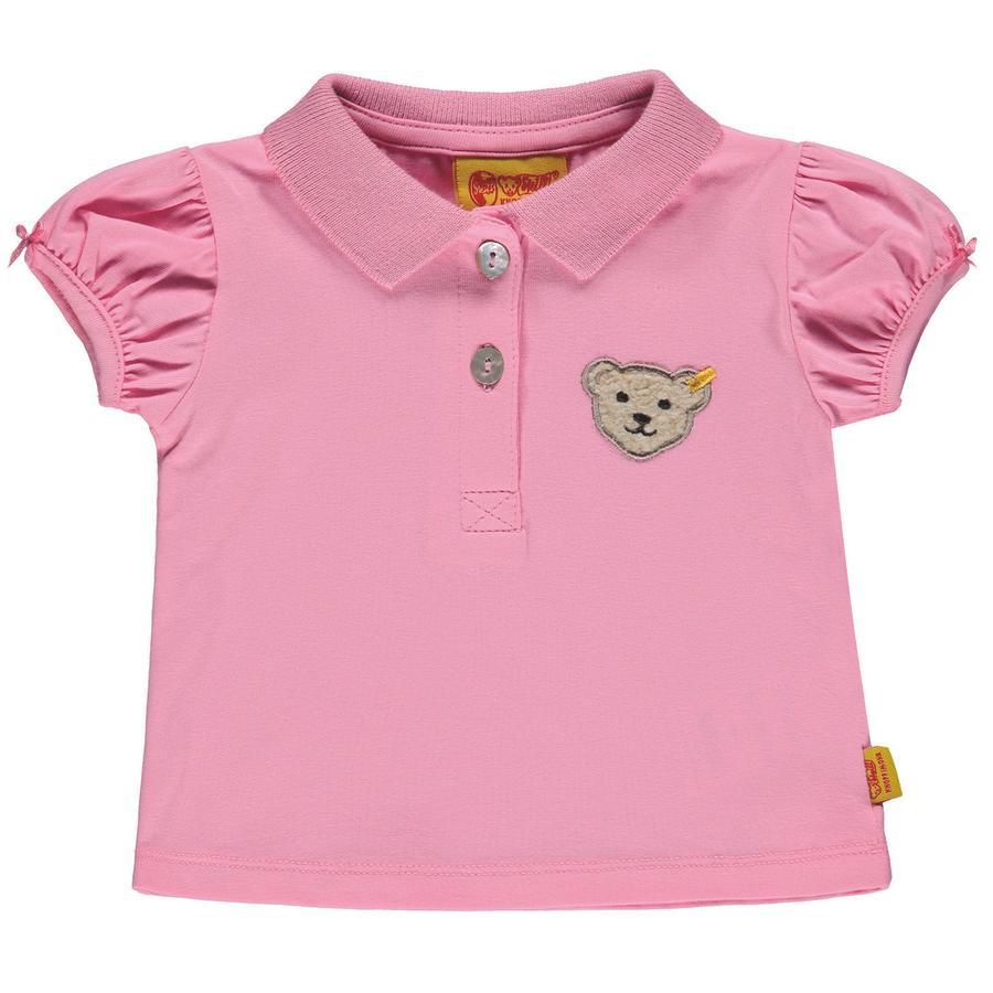 Steiff Girls Poloshirt, pink