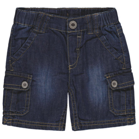 Steiff Boys Bermudas Jeans, blau