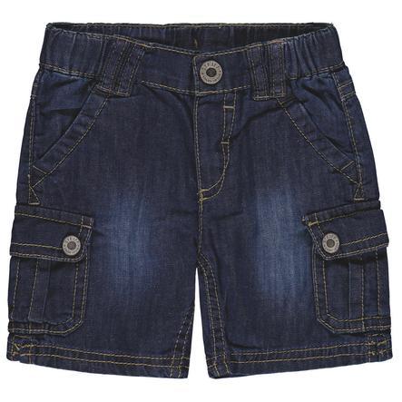 Steiff Boys Bermudy Jeans, niebieski.