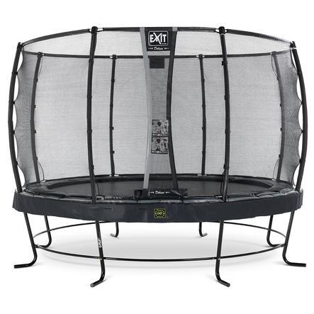 EXIT Elegant Premium trampoline ø366cm met Deluxe veiligheidsnet - zwart