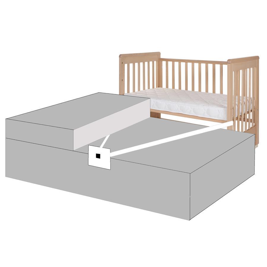 Treppy® Kit pour lit Boxspring, noir