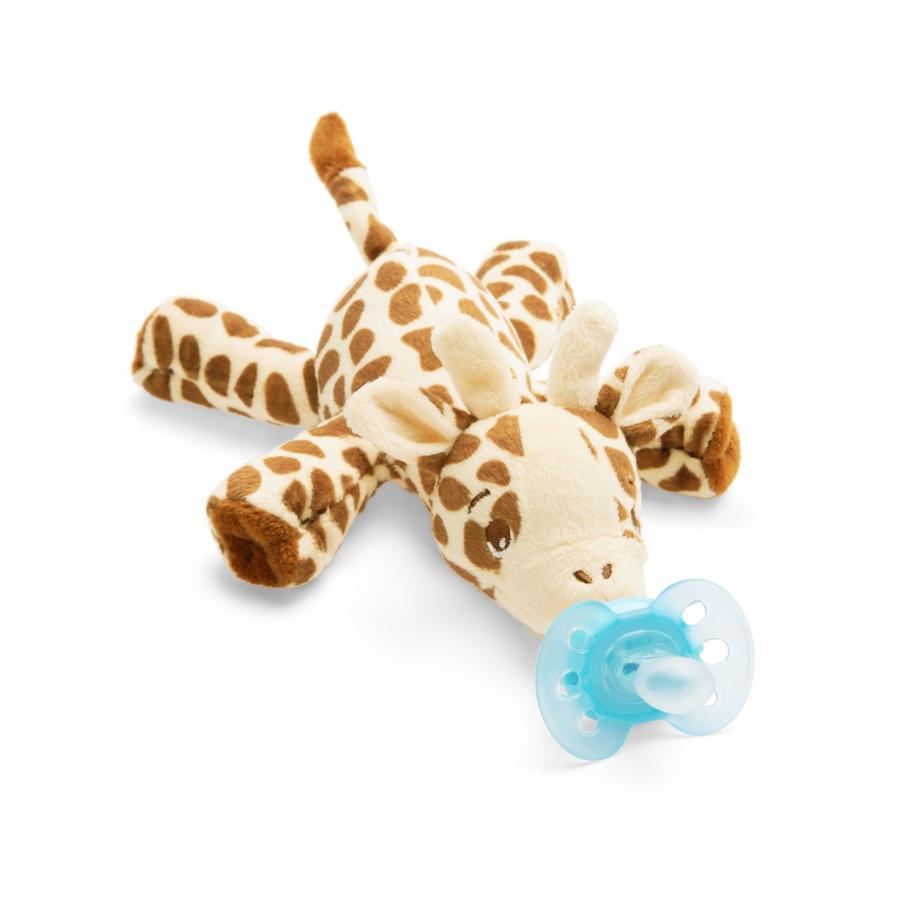 Philips Avent smokkedyr SCF348 / 11 Snuggle giraffe + ultra myk turkis