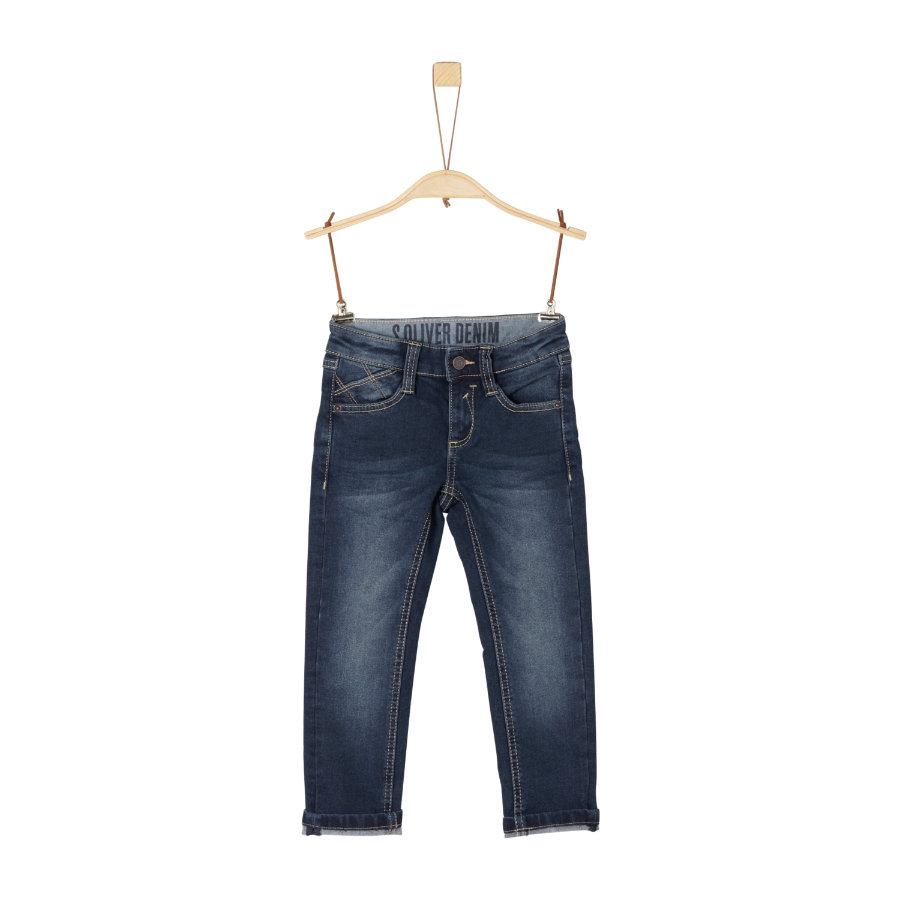 s.Oliver Boys Jeans azul denim stretch