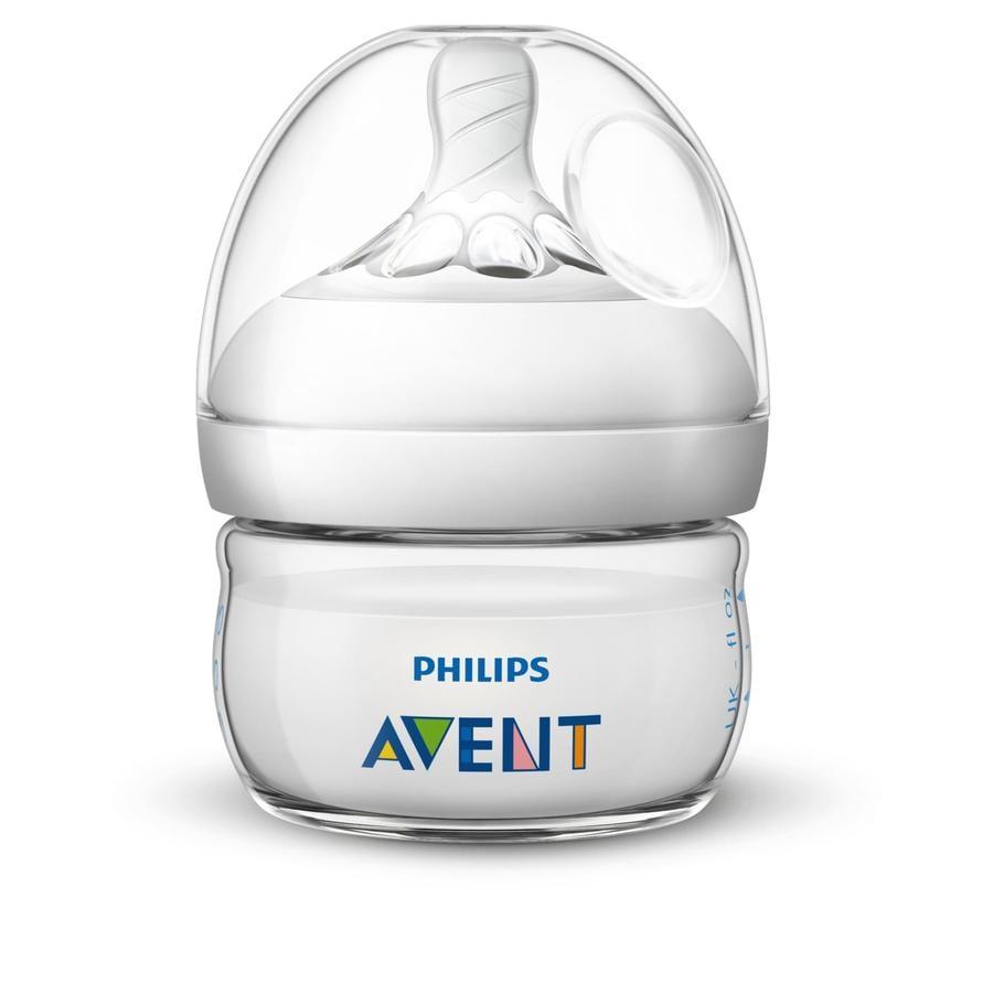 Philips Avent Natural Flasche SCF039/17, 60ml, 1 Stück, transparent