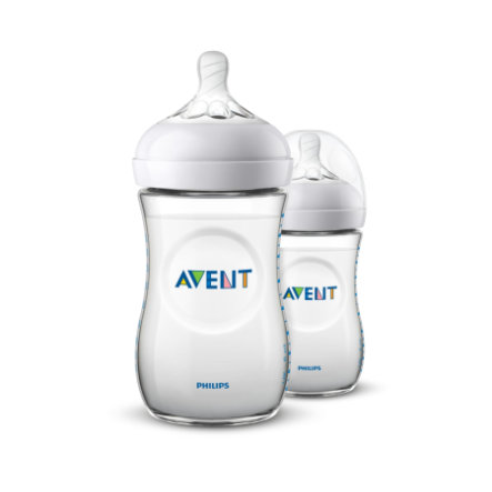 Philips AVENT SCF033/27 Biberon Natural 2.0 260ml pacco da 2