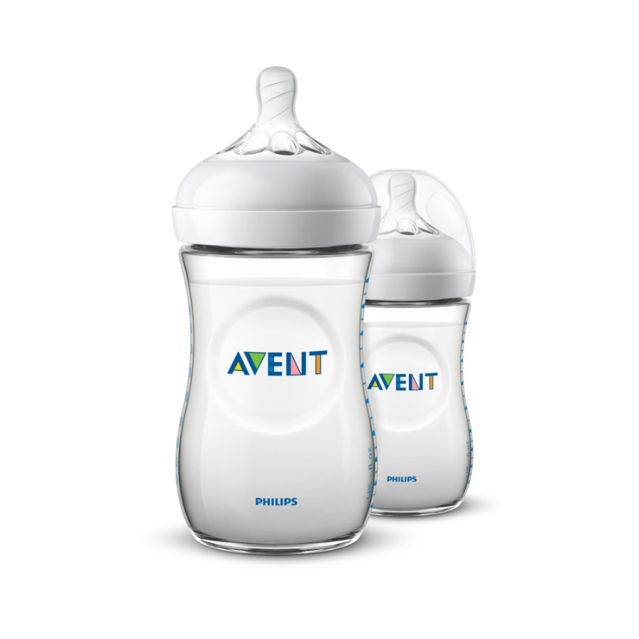 Philips AVENT SCF033/27 Natural Flaske 2.0 260ml 2 stk