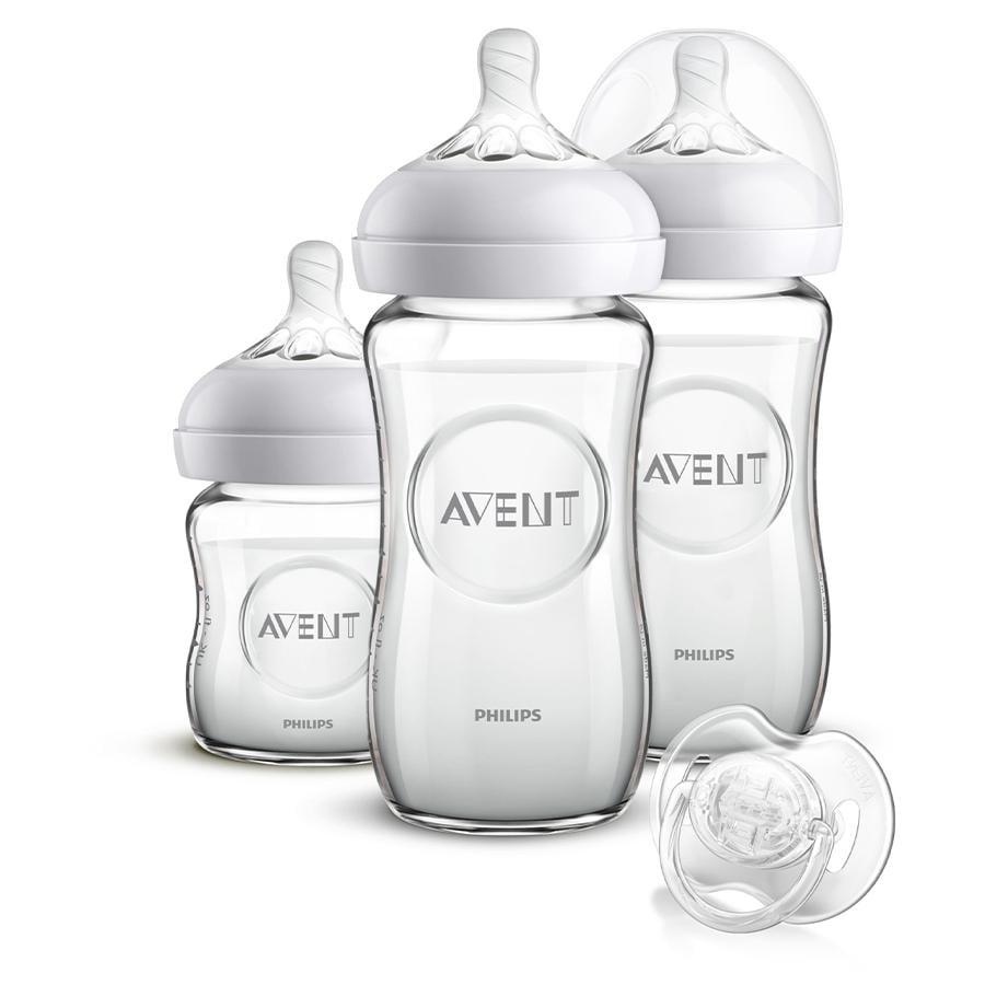Philips Avent SCD303/01 Set de biberones y chupete para recién nacidos