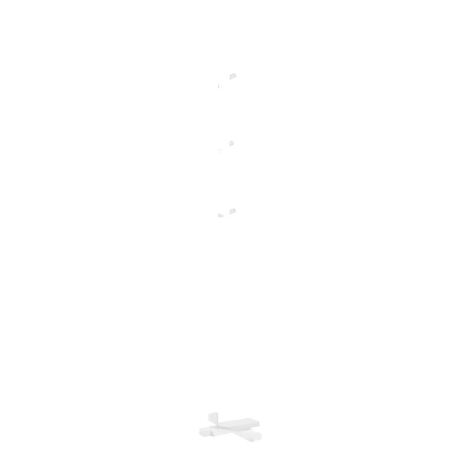 Kids Concept® Appendiabiti Star, bianco