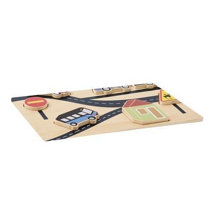 Kids Concept® Puzzle Aiden bois 6 pièces