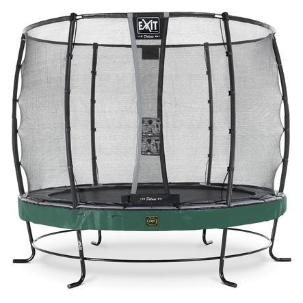 EXIT trampoliini Elegant Premium ø 253 cm Deluxe-turvaverkolla - vihreä