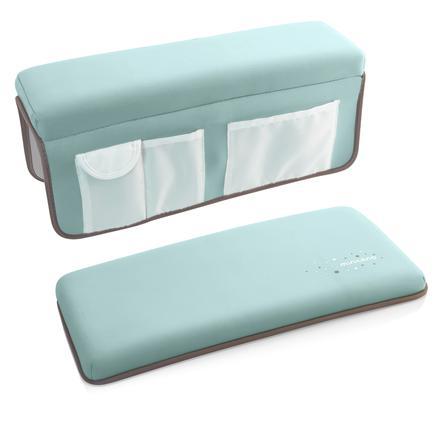 Miniland easybathing gewatteerde knie- en elleboogbeschermers voor in de badkamer