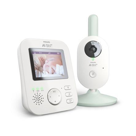 Philips AVENT Baby monitor SCD841//26 monitor video per bambino 300 m FHSS Bianco