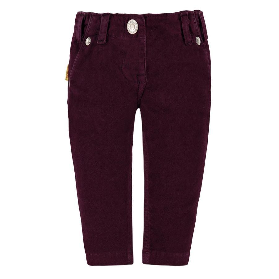 Steiff Girl s Spodnie w kolorze purpurowym