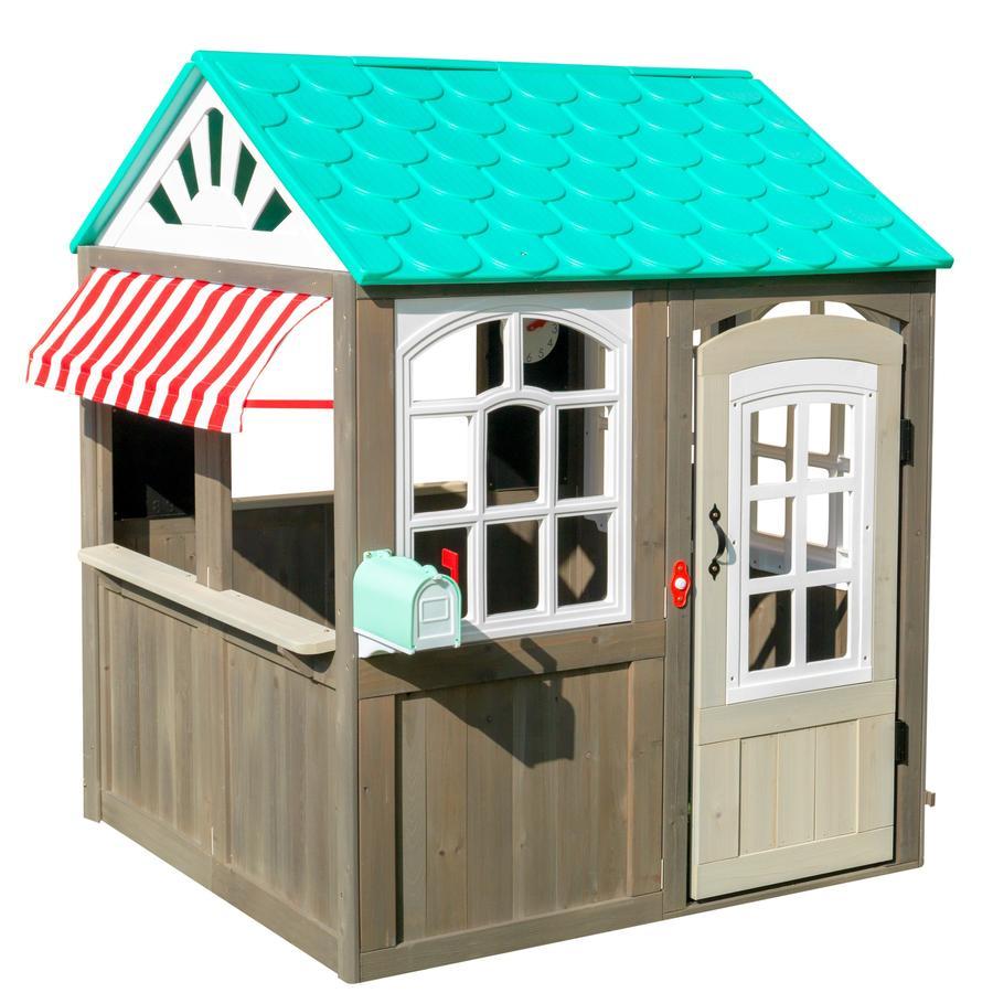 KidKraft® Maison cabane de jardin enfant Coastal Cottage bois 00419