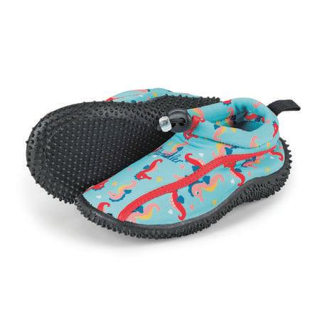 Sterntaler Aqua-Schuh Seepferdchen meeresblau