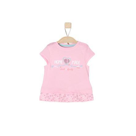 s.Oliver Girl s rosa T-Shirt chiaro