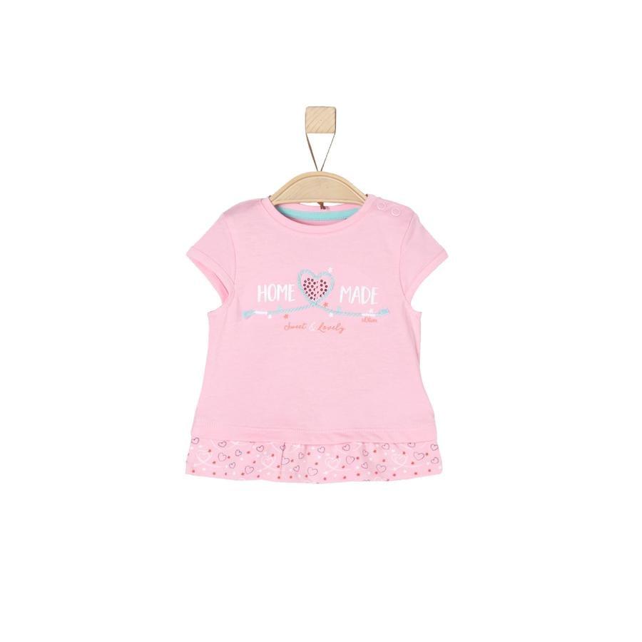 s. Olive r Girls Tričko light pink