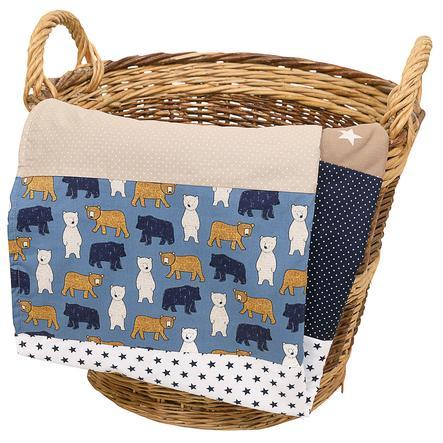 Ullenboom Baby deken & knuffeldeken 70X100 cm Zandbeer