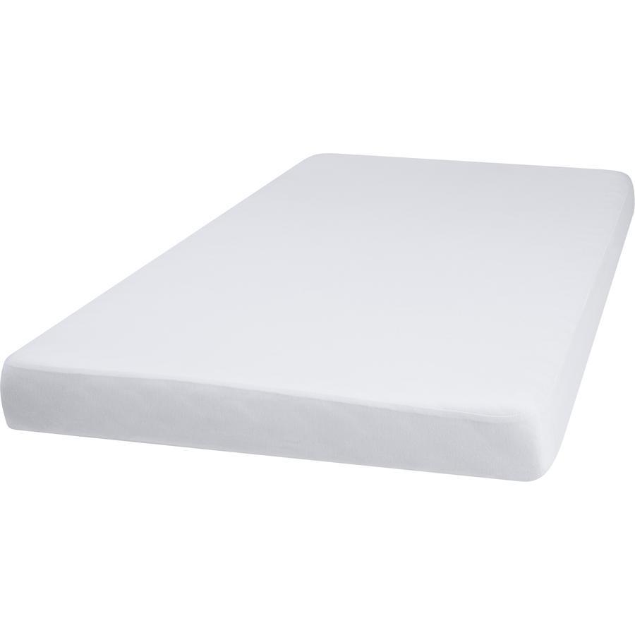 Playshoes Jersey Stræklagen 70x140 cm hvidt