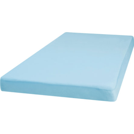 Playshoes Jersey Spannbettlaken 70x140 cm blau