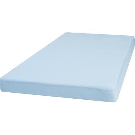 Playshoes Muotoonommeltu lakana Jersey 70 x 140 cm sininen