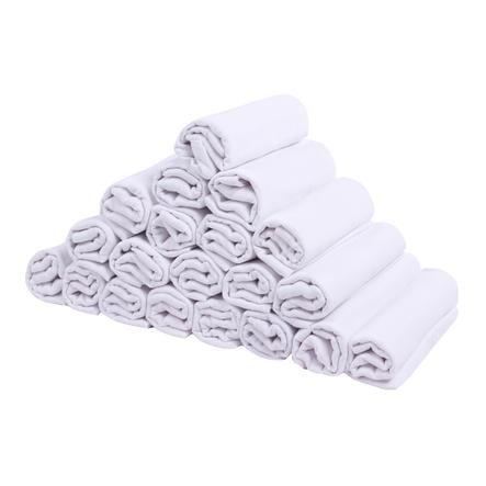 LULANDO látkové plenky 20 ks bílé 70 x 80 cm